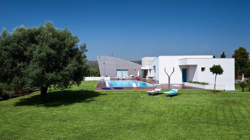 Luxury villa Viflori, location de vacances à Floridia