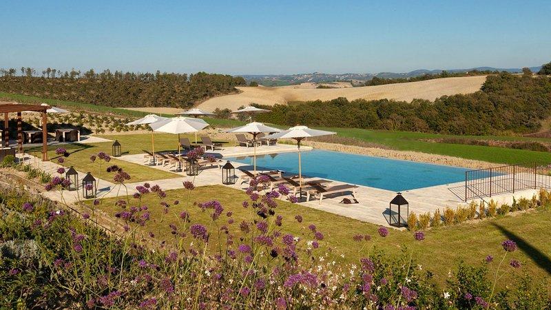 Luxury villa Il Santo, vacation rental in Vergelle