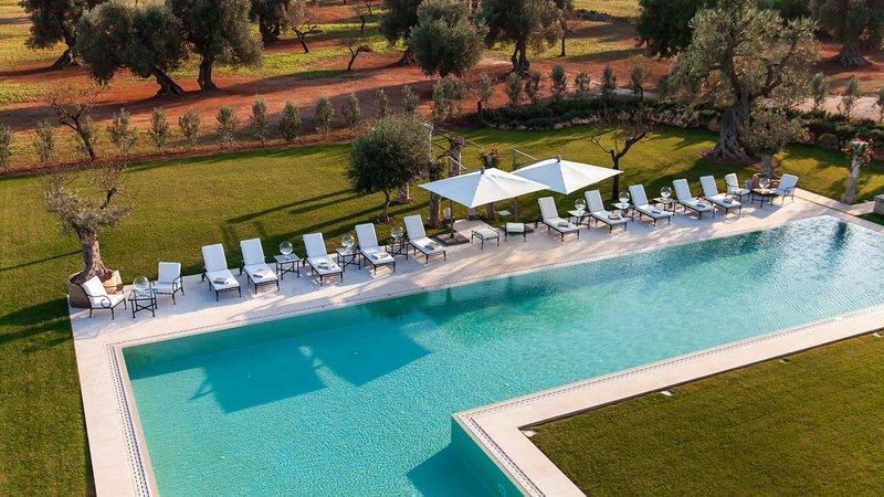 Luxuy villa Dimora Fasano, alquiler vacacional en Fasano