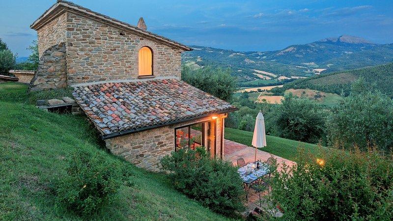 Luxury villa La Sommità - Cottage, casa vacanza a Spedalicchio
