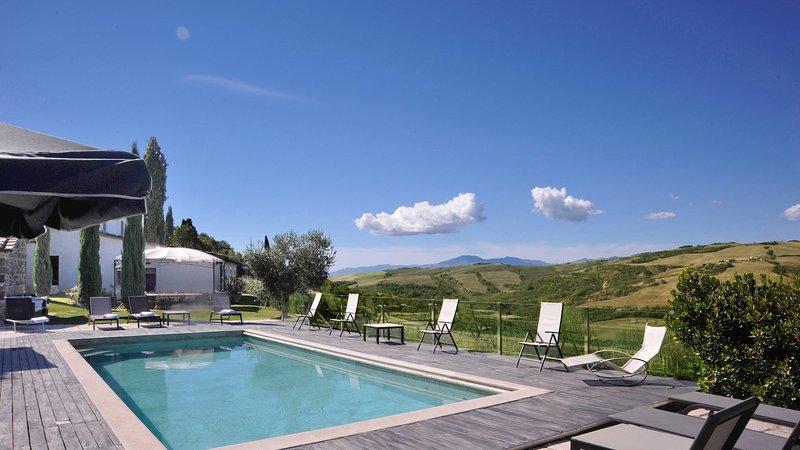 Luxury villa Faggeto, aluguéis de temporada em Radicofani
