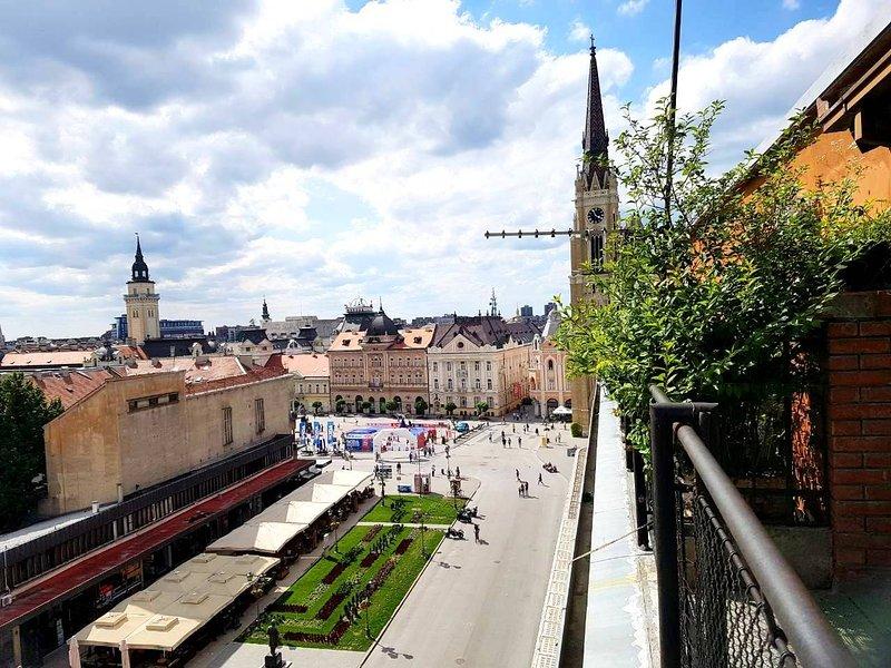 Penthouse Modena, vacation rental in Novi Sad