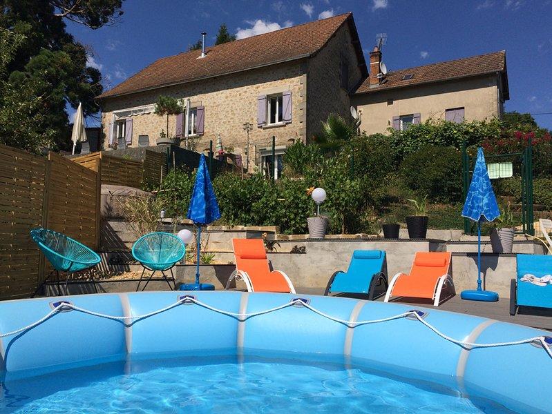Gite LES CONCHES - Thiviers Périgord avec wifi, holiday rental in Saint-Martin-de-Fressengeas