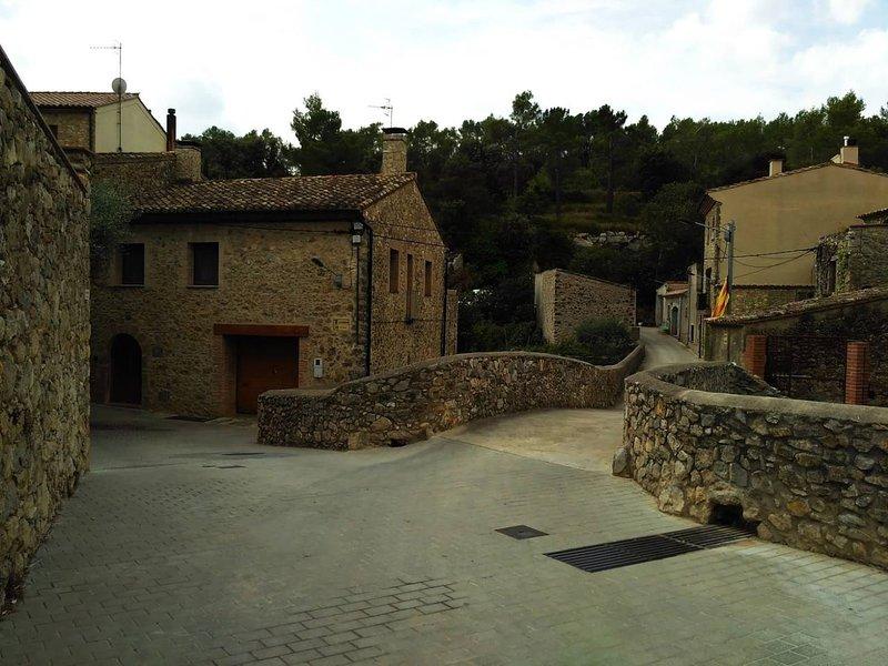 Apartamento en Terrades, el interior del Empordà, holiday rental in Avinyonet de Puigventos
