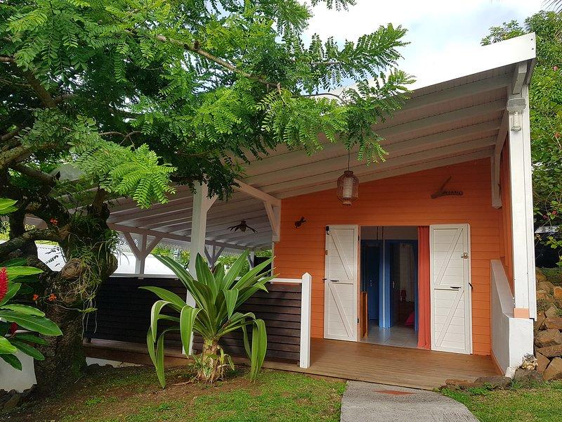 Résidence CaZméti'C - Bungalow Corail - piscine, location de vacances à Le Marin