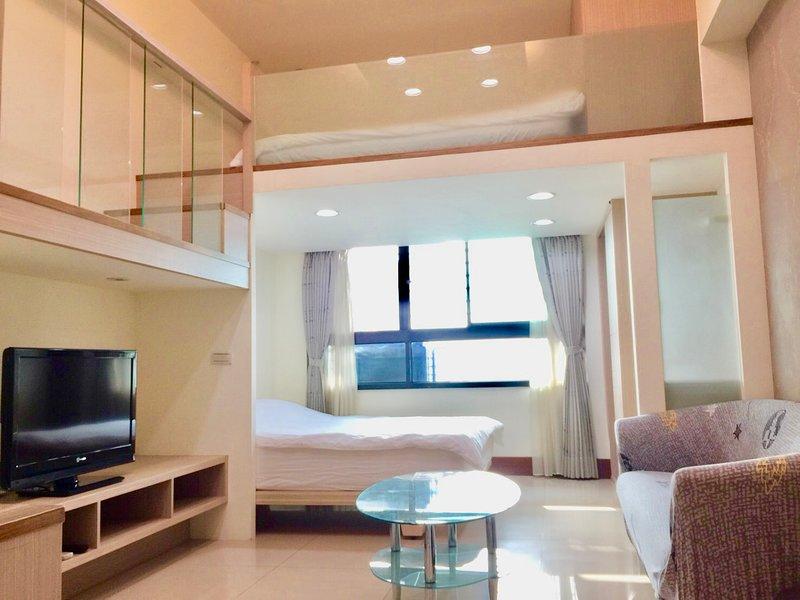 New High Floor/ Best Location 2mins MRT, vacation rental in Taoyuan