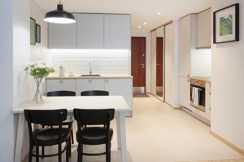 Modern Studio Apartment in City Center, Ferienwohnung in Tallinn