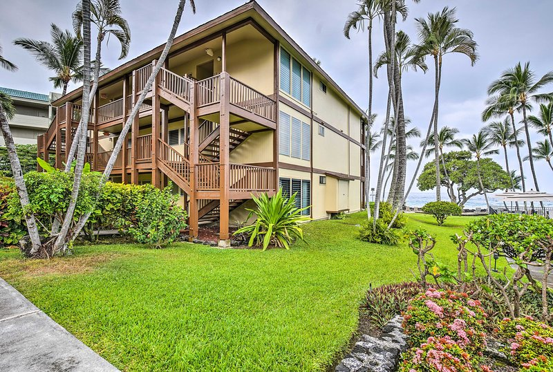 This third floor condo promises a memorable trip to Hawaii.