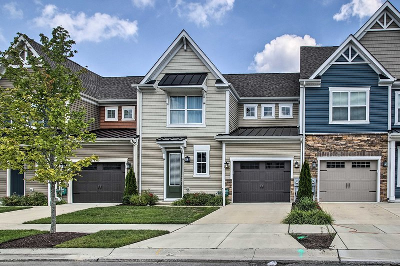 Make this Millville 3-bed, 2.5-bath townhome your next holiday destination!