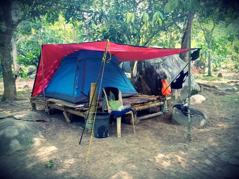 The RainFoRest Campsite in ABC bay (Tent 5), holiday rental in Pulau Tioman