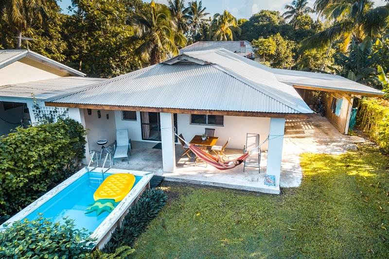Mango Cottage: near Muri with pool, vacation rental in Rarotonga