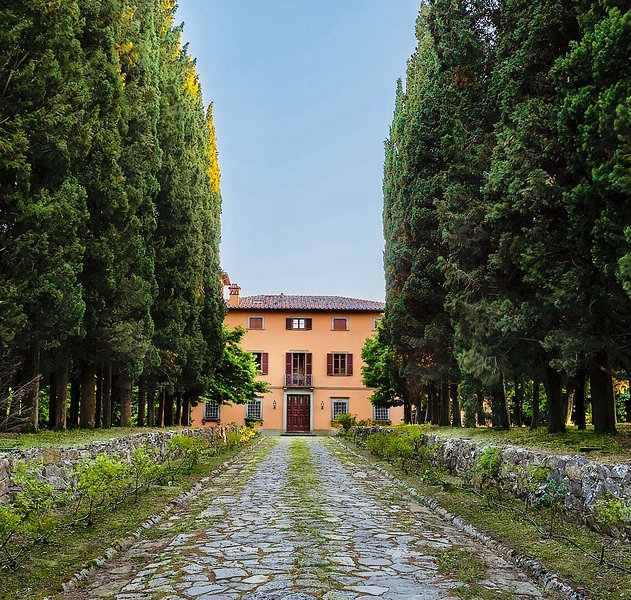 Baron's villa with pool and park on the border of Toscana and Umbria, holiday rental in Citta della Pieve