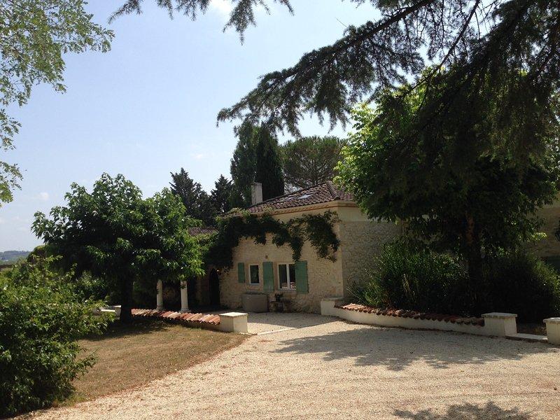 Bordeneuve 2 Villas, Pools, Hot-tubs, Sauna & A/C in sunny SW France.HEAVEN!, holiday rental in Trentels