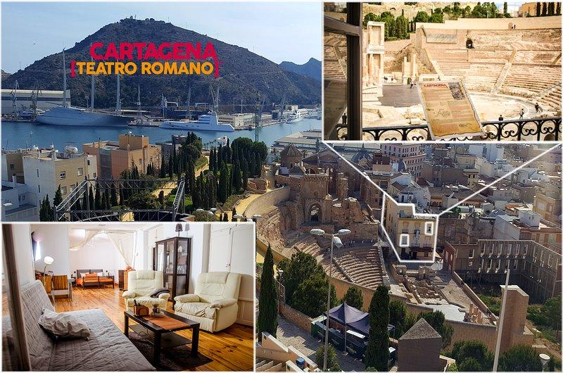 Apartamento Teatro Romano, holiday rental in Cartagena