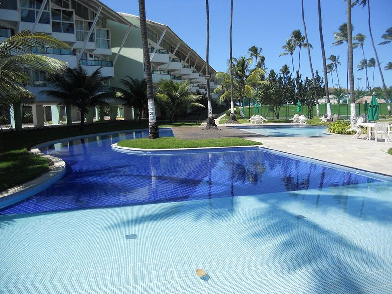 Resort Ancorar Porto de Galinhas - Flat 4302, alquiler vacacional en Maracaipe