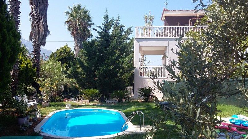 Villa *WIFI*POOL*Garden* close to Sea*, holiday rental in Neochori