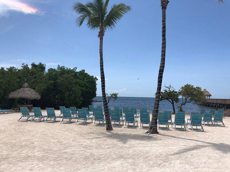 Bela praia privada