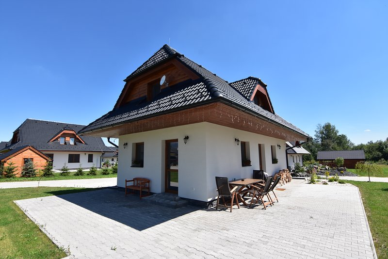 Vysoké Tatry beautiful cottage with panoramic views, holiday rental in Velka Lomnica
