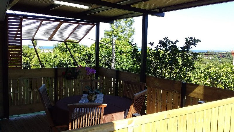 The begonia With terrace with breathtaking views and very sunny