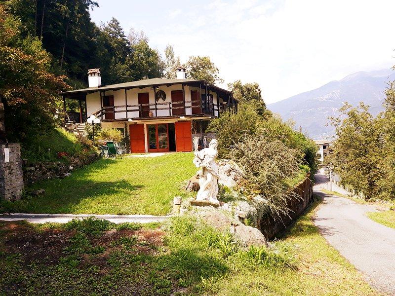 Via Privata Pola entrance of The Garden Chalet Sport and Relax