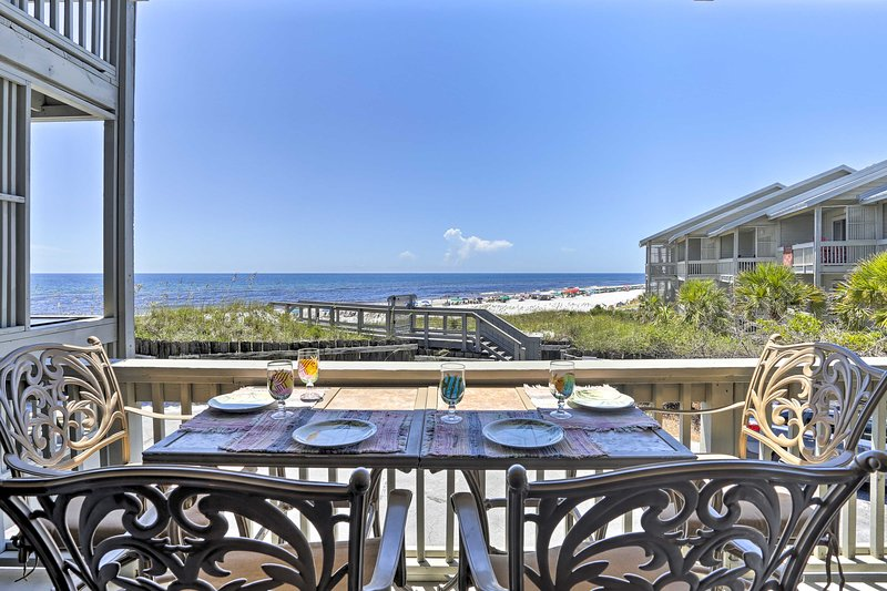 Make the most of your Florida beach retreat at this stunning vacation rental!