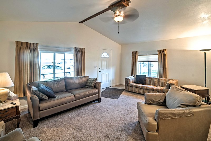 Experience the ideal Montana getaway at this lovely 1-bedroom, 1-bath apartment.