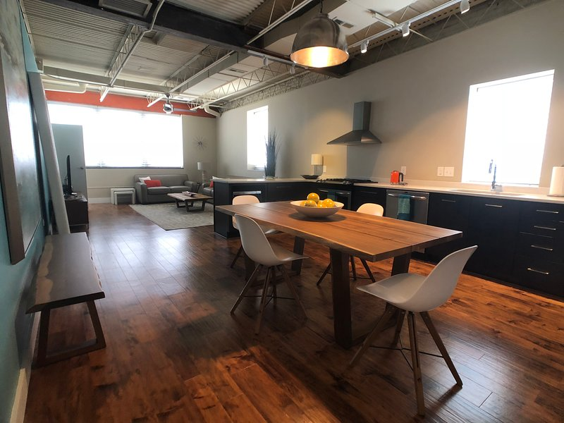 Stylish Contemporary Apartment in the Heart of Downtown Greensboro, vacation rental in Greensboro