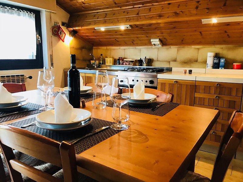 Splendido Trilocale in Centro Aprica, holiday rental in Monno