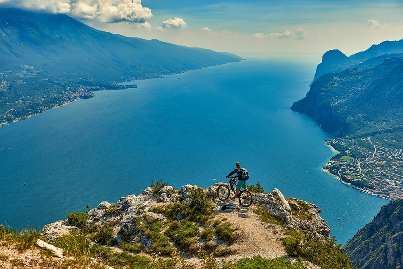Mountainbiking at Lake Garda
