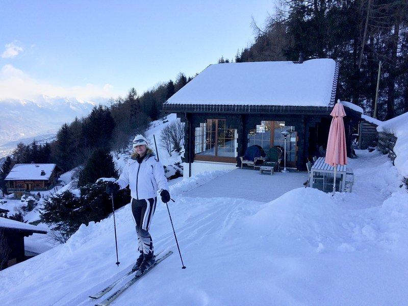 Excepcional chalet con entrada de esquí
