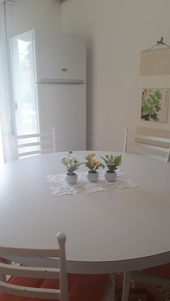 Family dining table for 6 persons