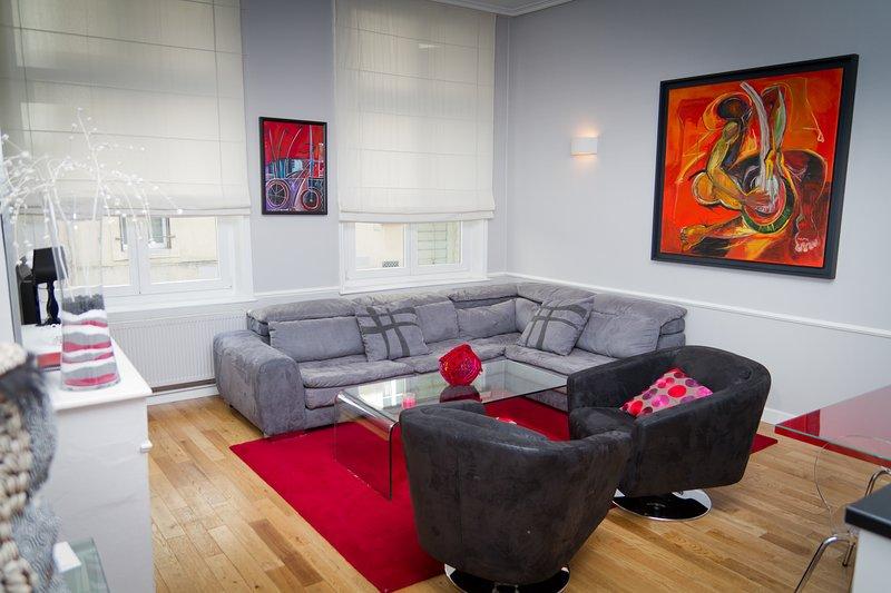 Vieille ville: A deux pas de la place Stan - Appartement Rennel, Ferienwohnung in Vandoeuvre-les-Nancy