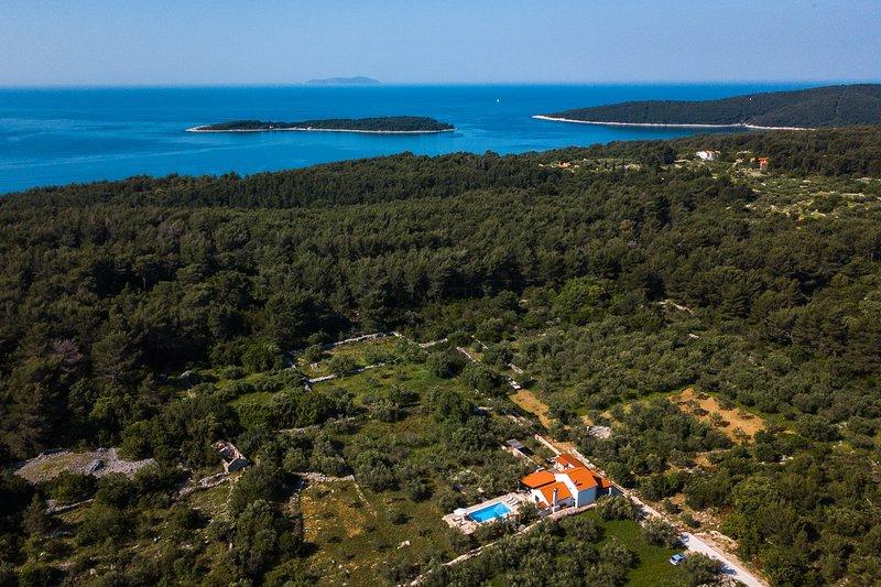 Villa Ivan, holiday rental in Vela Luka