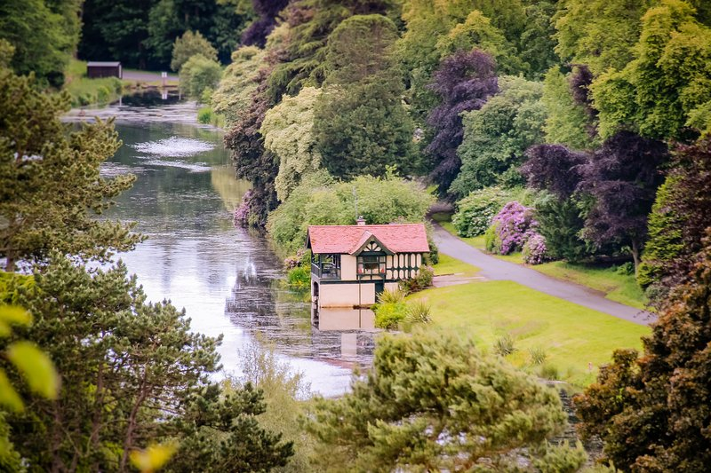 Dundas Castle Boathouse, holiday rental in Newton