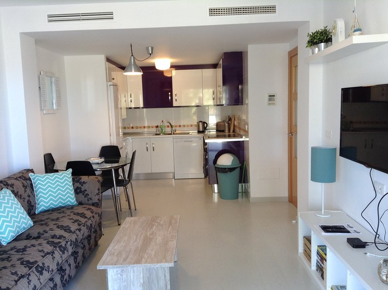 Sea view apartment – semesterbostad i Puerto de Mazarron