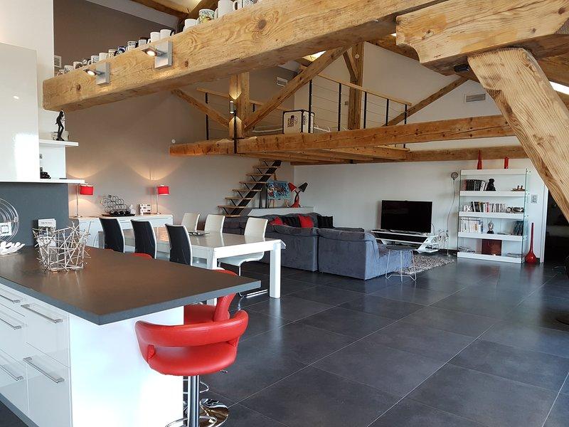 GÎTE LE LOFT, holiday rental in Saint-Marcel-sur-Aude