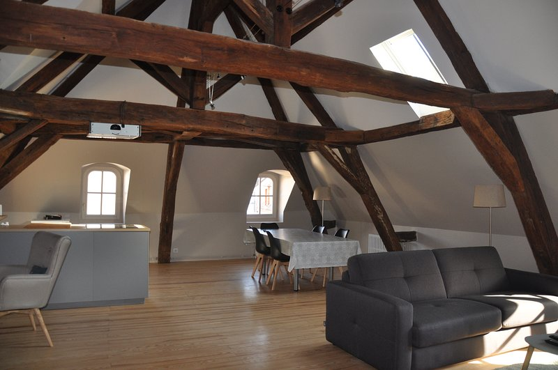 Clos St Eusèbe, Appartement en plein coeur de ville, holiday rental in Fontenailles