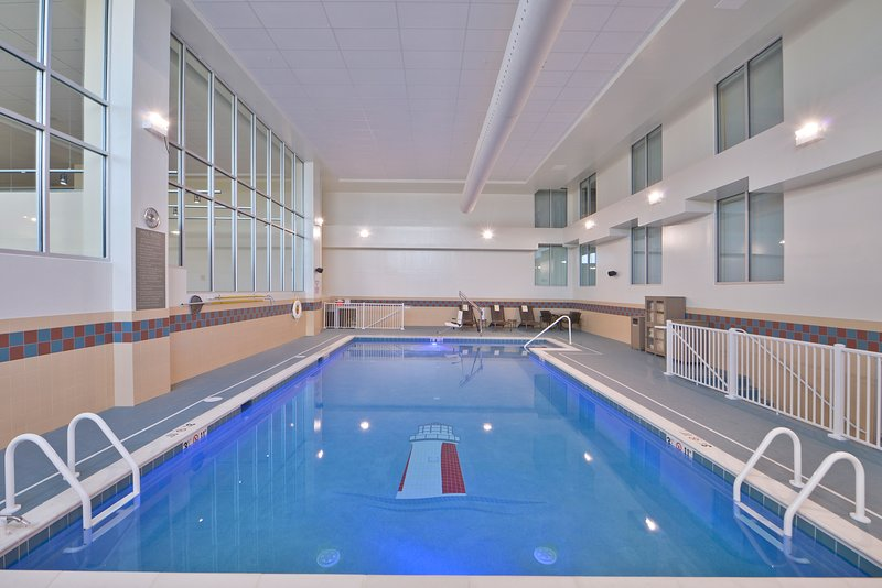 Indoor saltwater pool is also available to you!