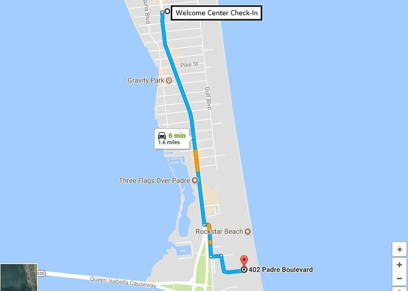 Mappa per Saida II dal Welcome Center
