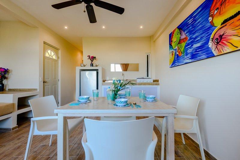Dinning room kitchen