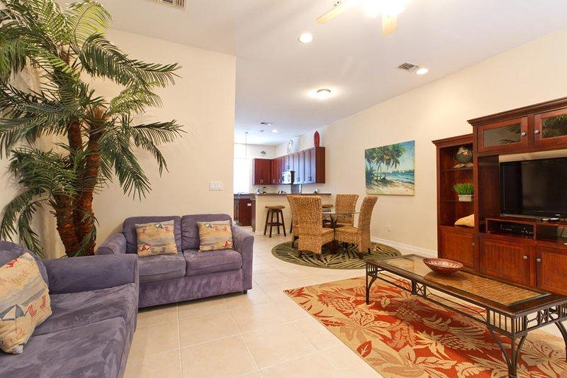 Tortuga Bay 100-7 Living Area
