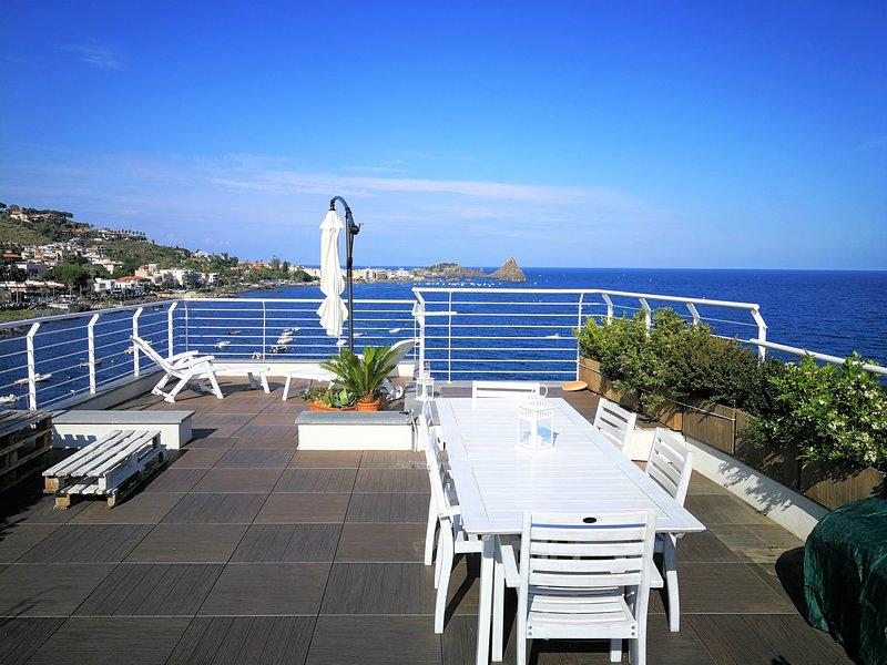 the sea you can feel, location de vacances à Acitrezza