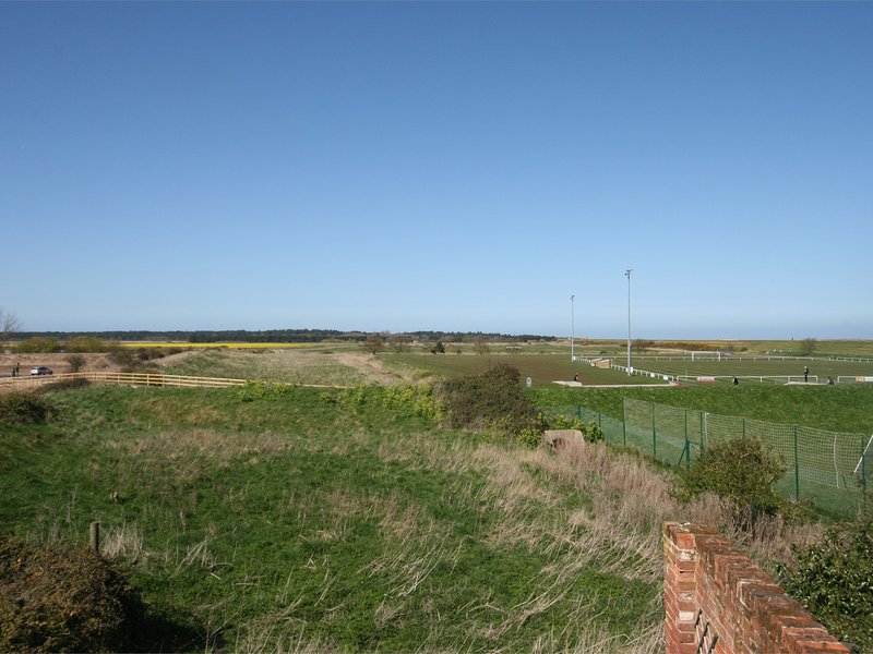 View towards the property