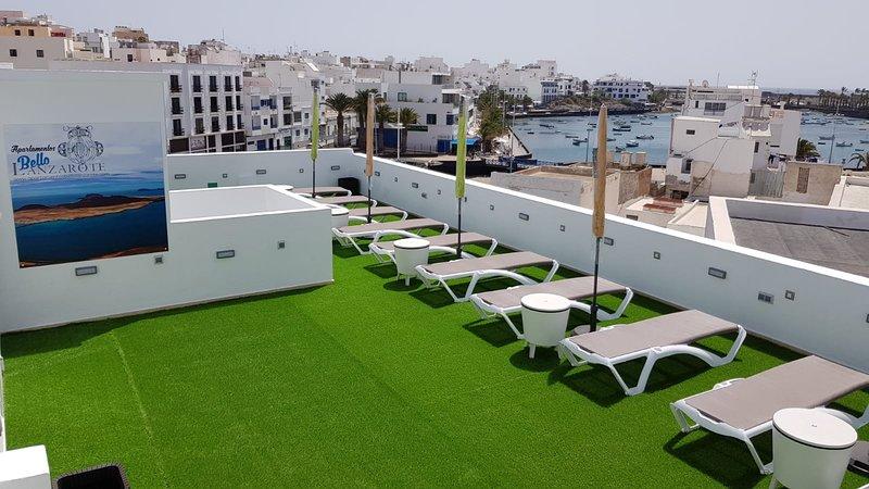 205 Bright and modern apartment in Arrecife, Lanzarote, 3 people, vacation rental in Puerto Naos