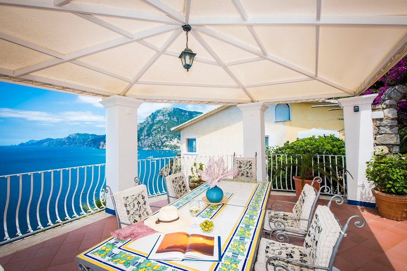 Villa Arzilla 1 with parking and w/o steps - look and judge, vacation rental in Positano
