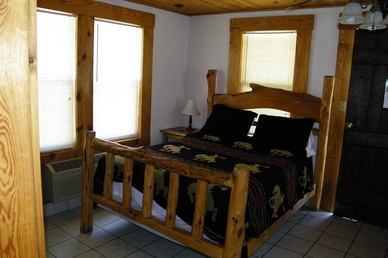 Comfortable Native Cedar post Queen size bed