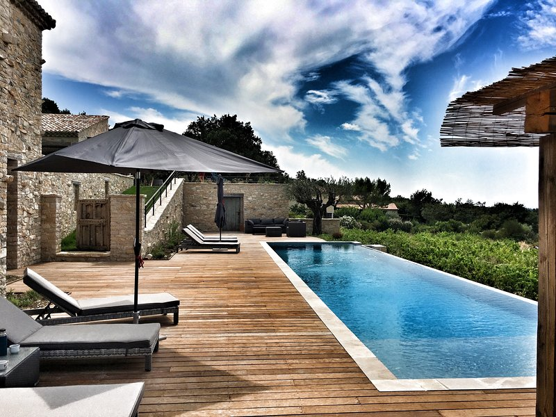 Mas des amis Seguret en Provence, location de vacances à Seguret