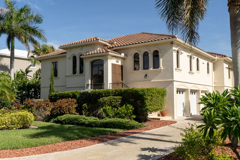 Sand Castle a gorgeous, large four bedroom four bath pool home on the 7th fairway of the Sanibel Golf Club, minutes to the beach.