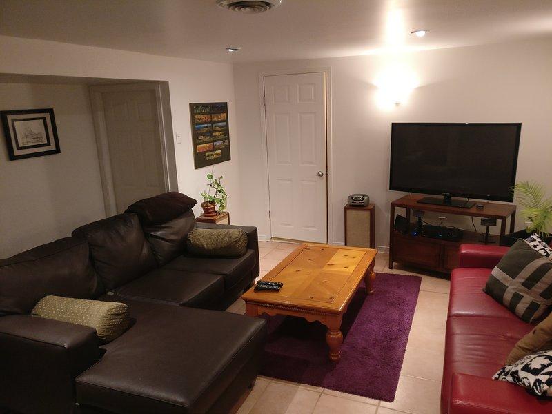 sala de estar w 52 en TV