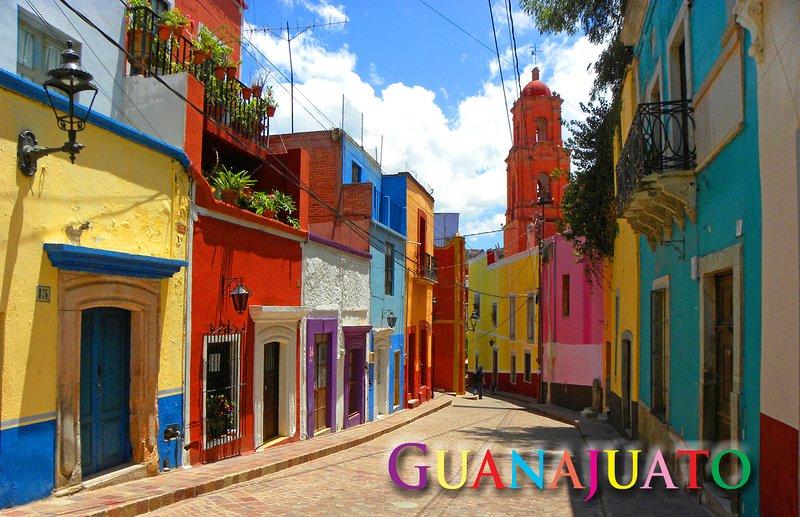 Bonita Casa con estacionamiento, location de vacances à Guanajuato